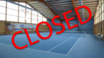 Die Halle ist wieder geschlossen